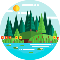 OpenFM - Odglosy Natury Logo